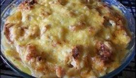 Готовая картофельная запеканка