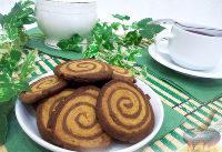 Готовое печенье Зебра
