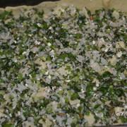 Пирог (пита) с щавелем, рисом и фетой