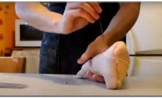 Рецепт гусиного салями 9